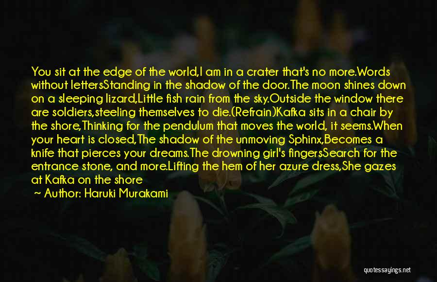 The Rain Poem Quotes By Haruki Murakami