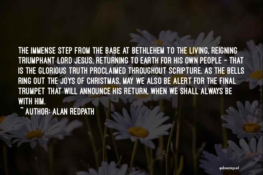 The Return Of Jesus Quotes By Alan Redpath
