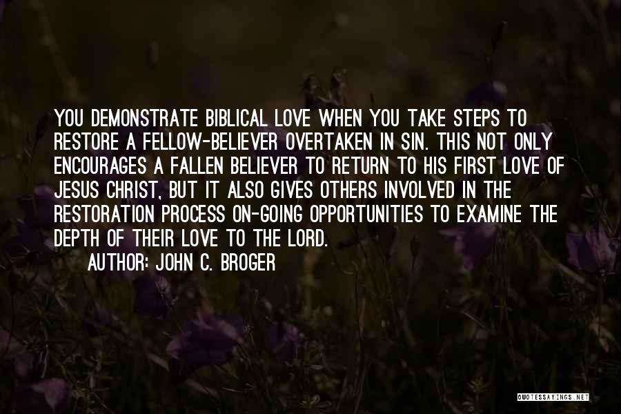 The Return Of Jesus Quotes By John C. Broger