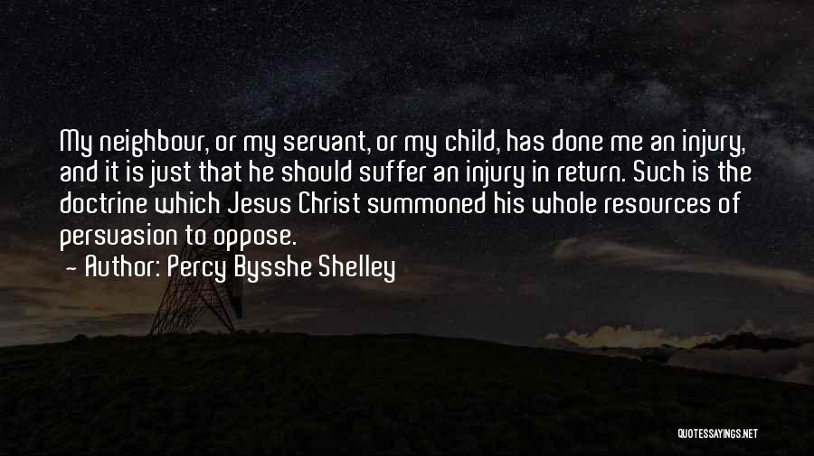 The Return Of Jesus Quotes By Percy Bysshe Shelley