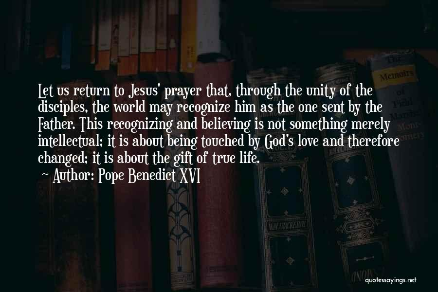 The Return Of Jesus Quotes By Pope Benedict XVI