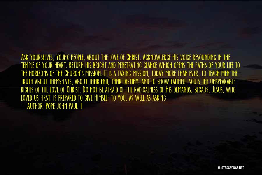 The Return Of Jesus Quotes By Pope John Paul II