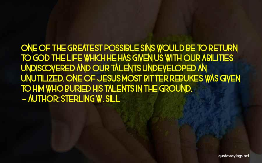 The Return Of Jesus Quotes By Sterling W. Sill