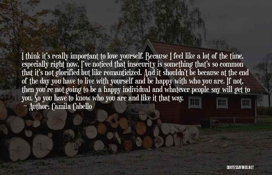 The Right Way To Live Quotes By Camila Cabello