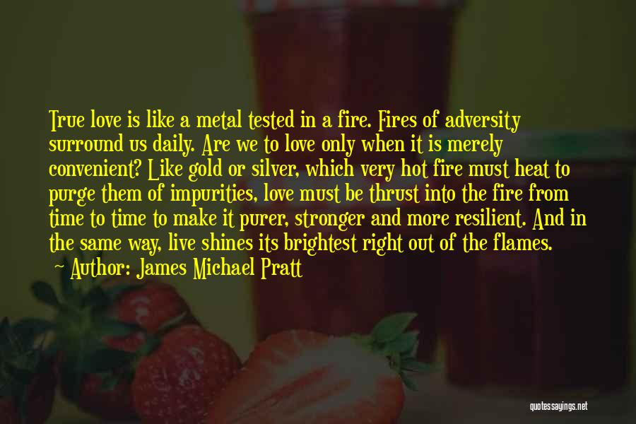 The Right Way To Live Quotes By James Michael Pratt