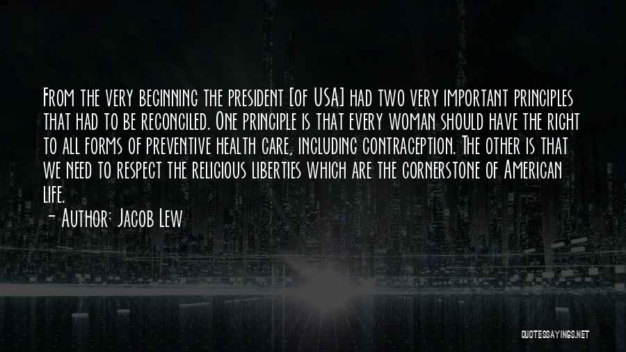 The Right Woman Quotes By Jacob Lew