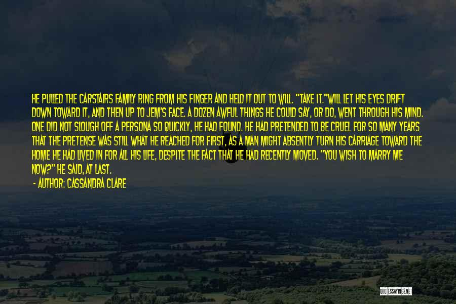 The Ring Finger Quotes By Cassandra Clare