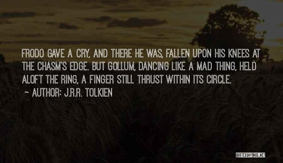 The Ring Finger Quotes By J.R.R. Tolkien