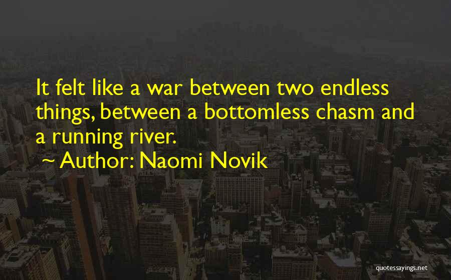 The River Between Us Quotes By Naomi Novik