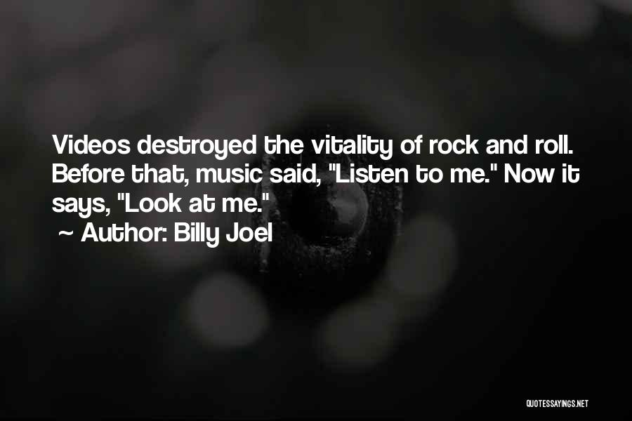 The Rock Says Quotes By Billy Joel