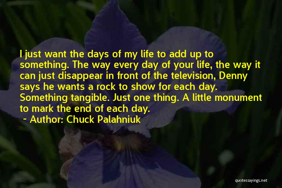 The Rock Says Quotes By Chuck Palahniuk