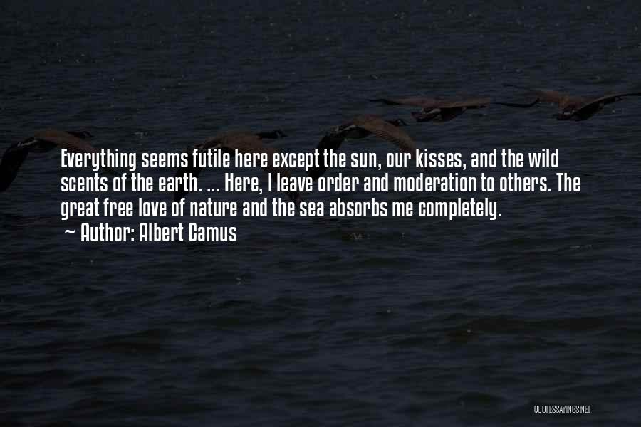 The Sea And Sun Quotes By Albert Camus