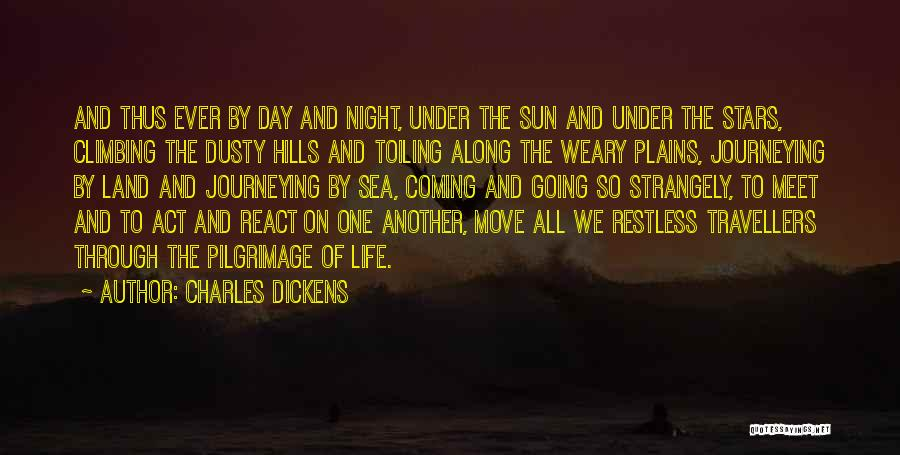 The Sea And Sun Quotes By Charles Dickens