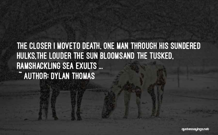 The Sea And Sun Quotes By Dylan Thomas