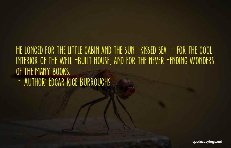 The Sea And Sun Quotes By Edgar Rice Burroughs