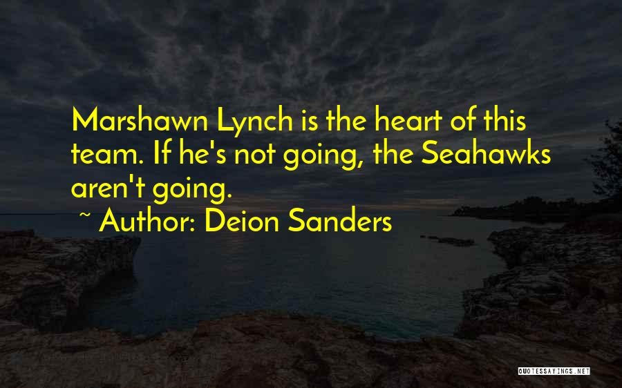 The Seahawks Quotes By Deion Sanders
