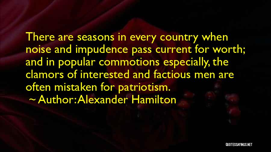 The Seasons Quotes By Alexander Hamilton