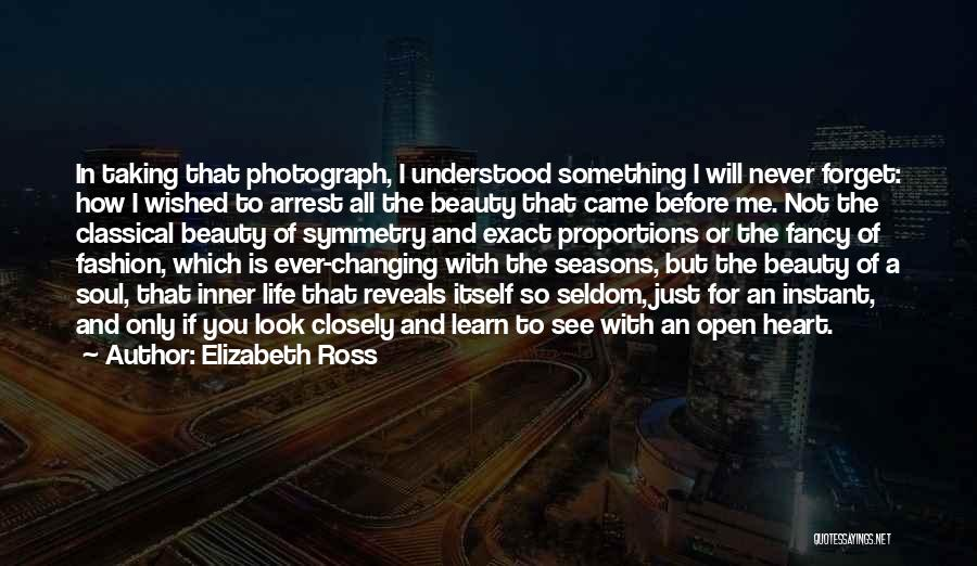 The Seasons Quotes By Elizabeth Ross