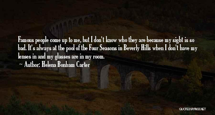 The Seasons Quotes By Helena Bonham Carter