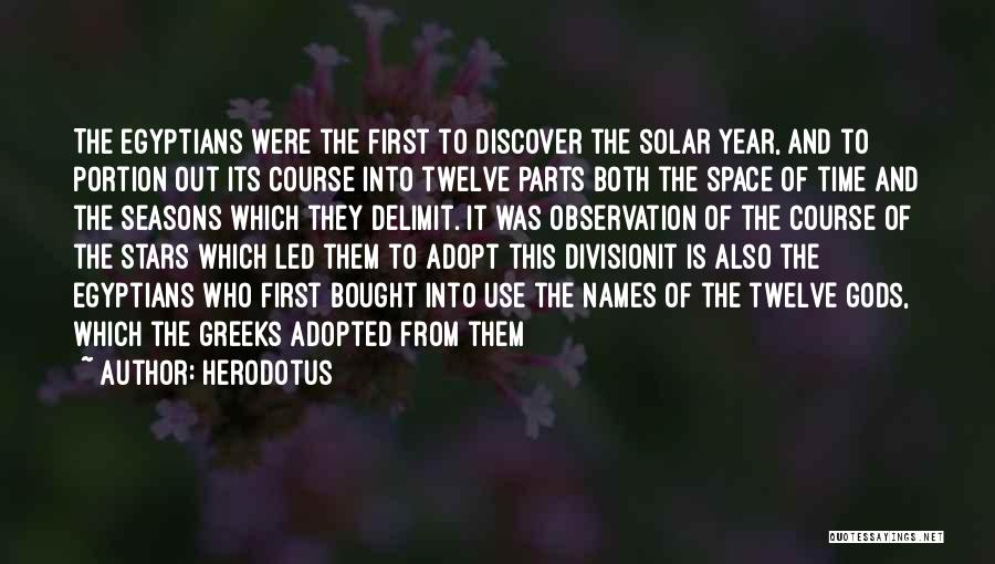 The Seasons Quotes By Herodotus
