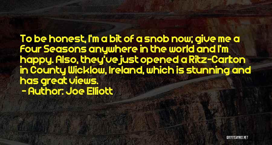 The Seasons Quotes By Joe Elliott