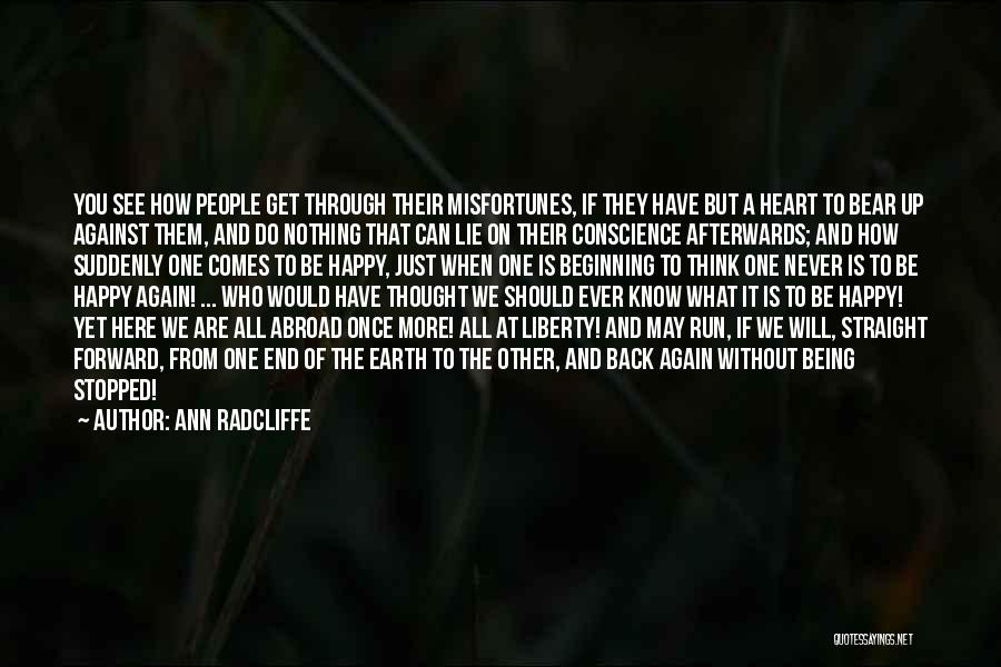 The Sky And Hope Quotes By Ann Radcliffe
