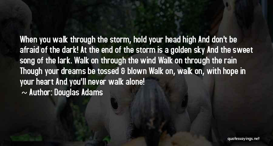 The Sky And Hope Quotes By Douglas Adams