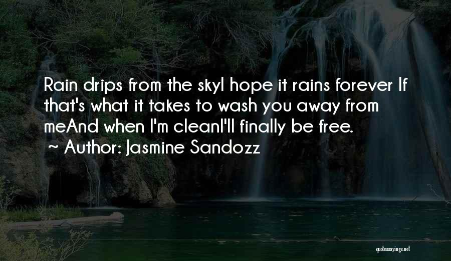 The Sky And Hope Quotes By Jasmine Sandozz
