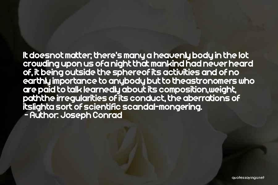 The Sky And Hope Quotes By Joseph Conrad