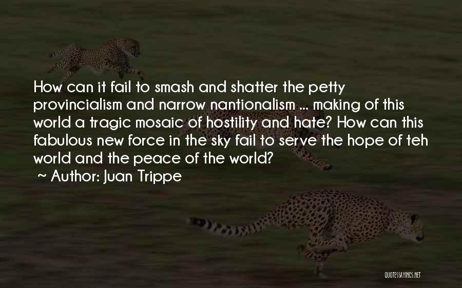 The Sky And Hope Quotes By Juan Trippe