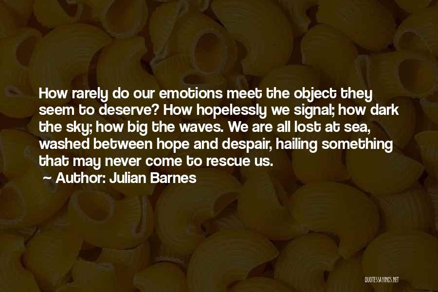 The Sky And Hope Quotes By Julian Barnes