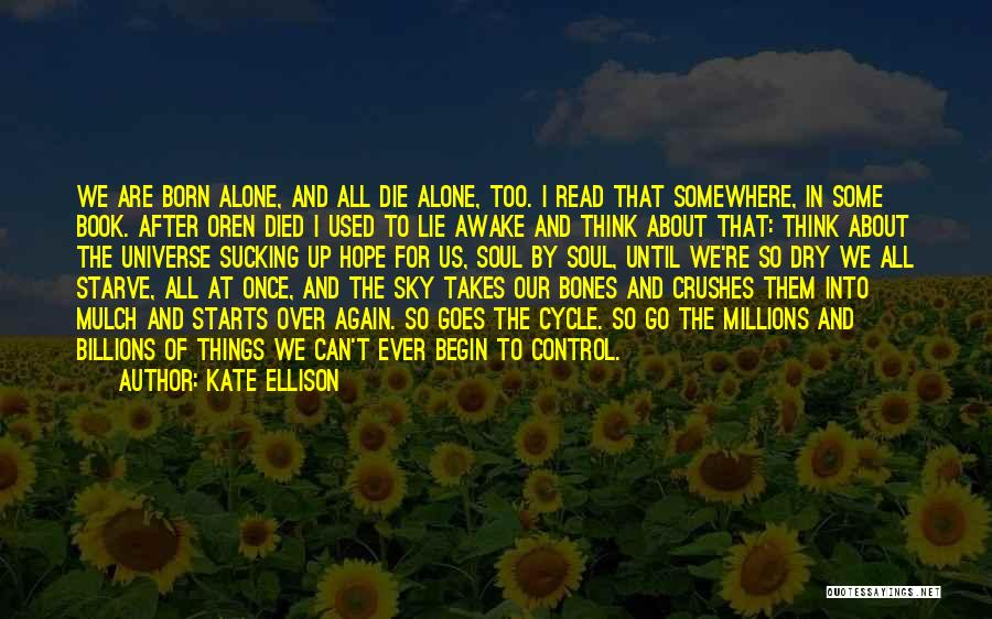 The Sky And Hope Quotes By Kate Ellison