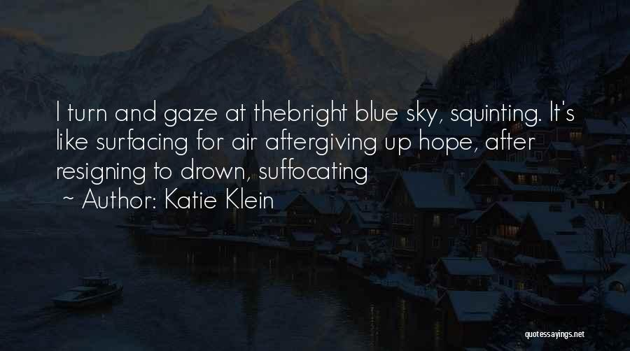 The Sky And Hope Quotes By Katie Klein