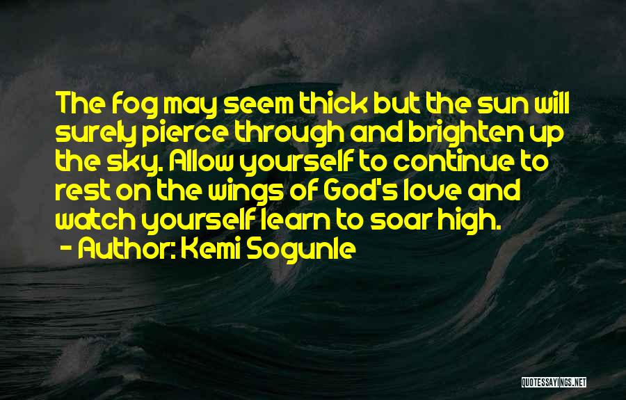 The Sky And Hope Quotes By Kemi Sogunle