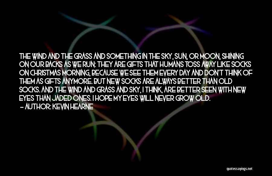 The Sky And Hope Quotes By Kevin Hearne