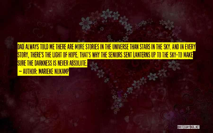 The Sky And Hope Quotes By Marieke Nijkamp