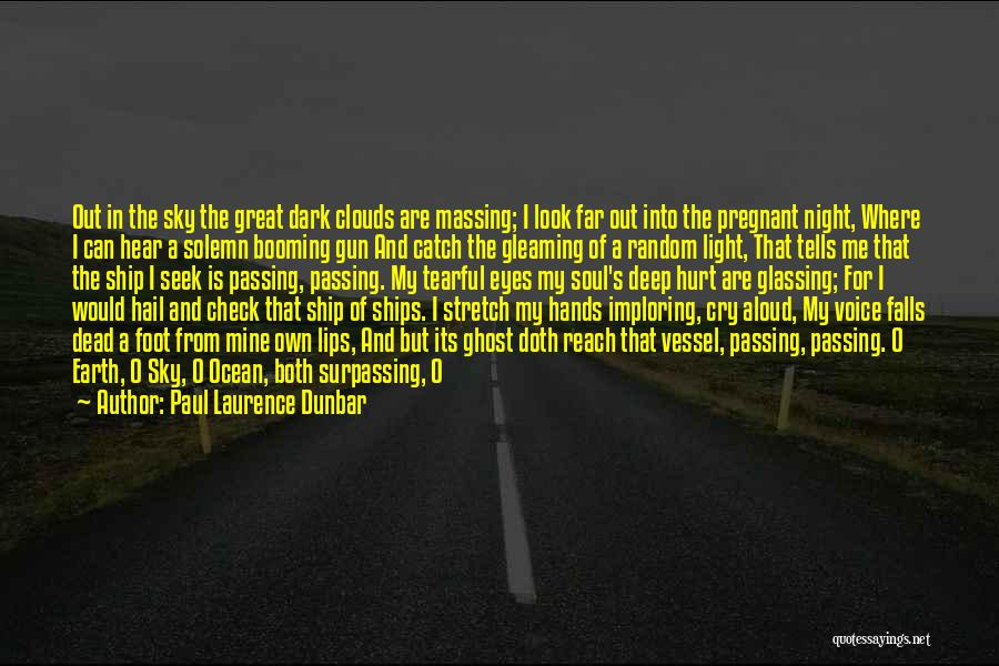 The Sky And Hope Quotes By Paul Laurence Dunbar