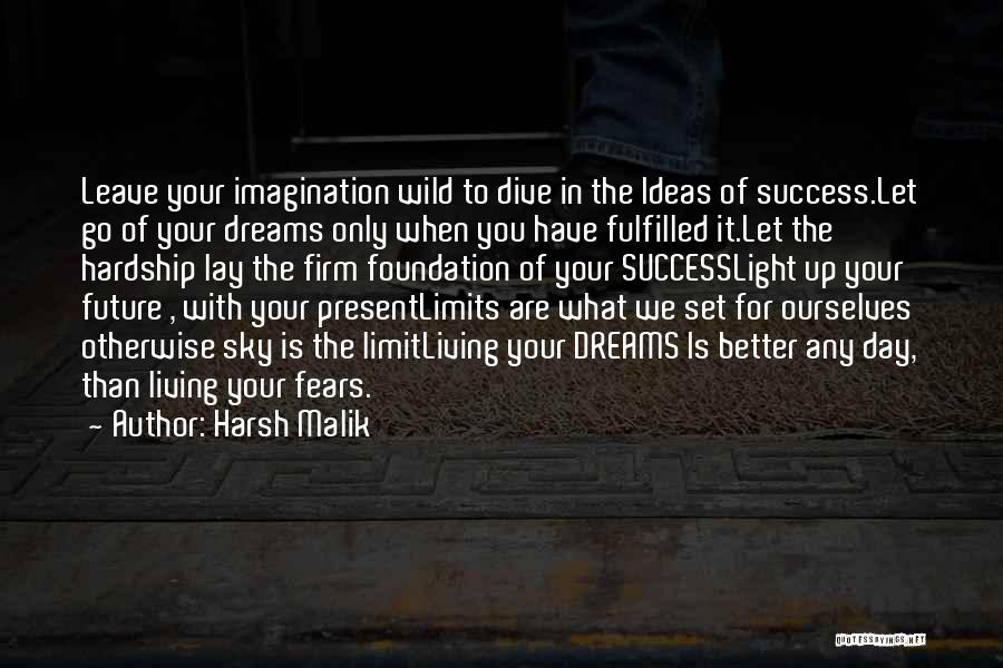 The Sky's Not The Limit Quotes By Harsh Malik