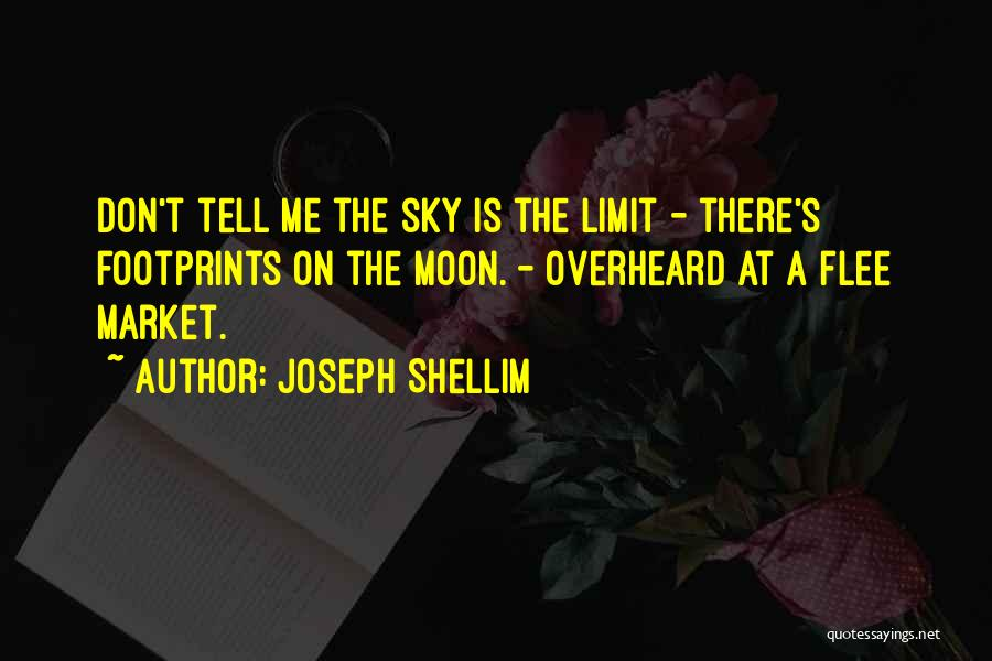 The Sky's Not The Limit Quotes By Joseph Shellim