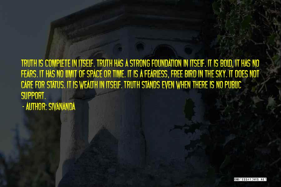 The Sky's Not The Limit Quotes By Sivananda
