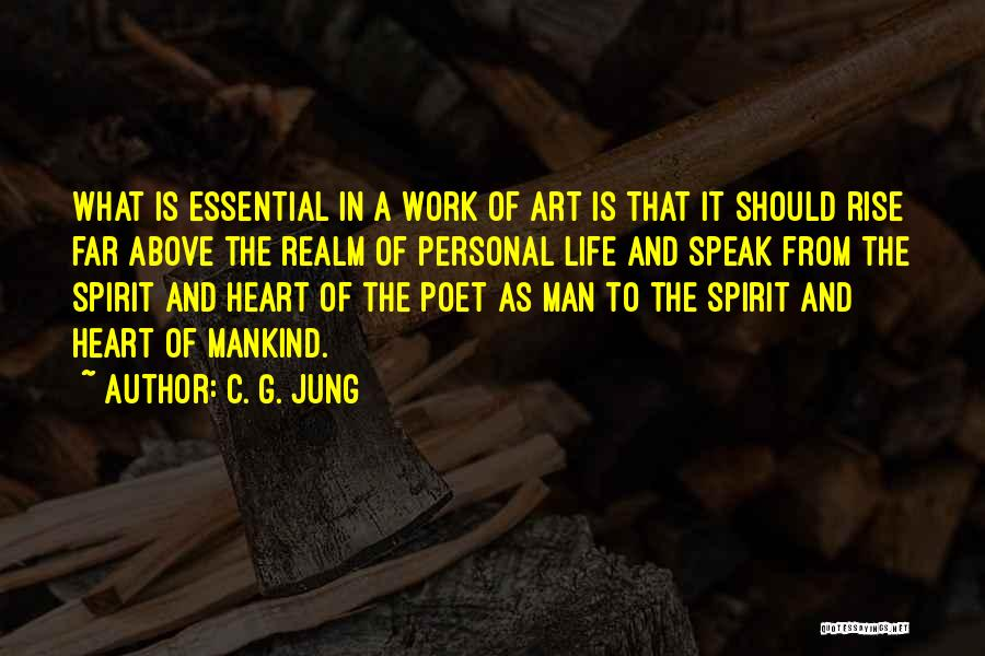 The Spirit Realm Quotes By C. G. Jung