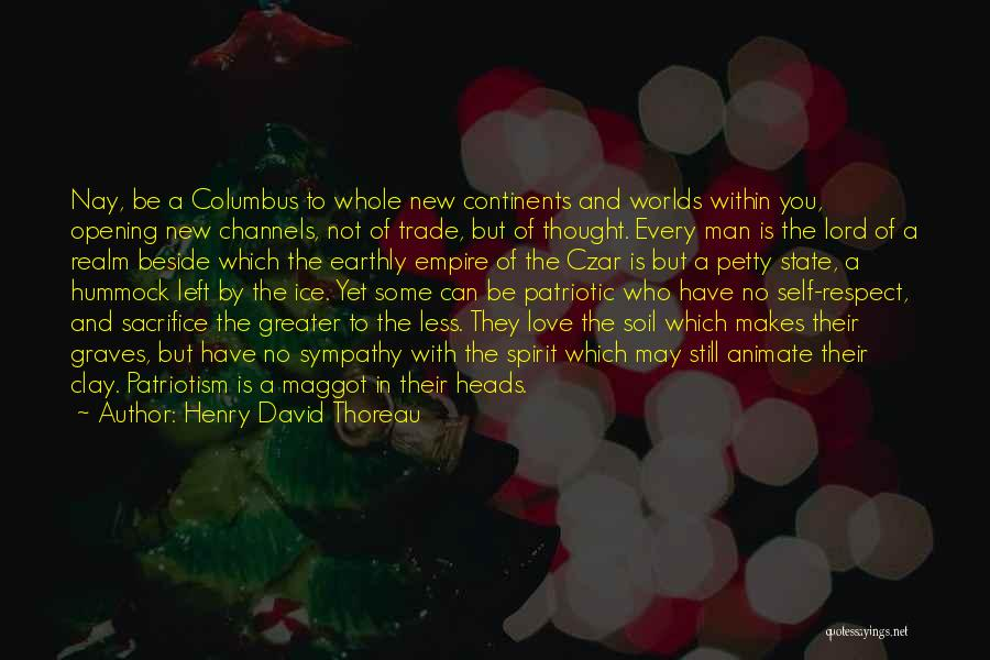 The Spirit Realm Quotes By Henry David Thoreau