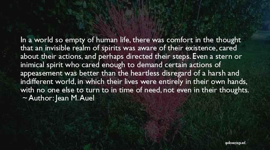 The Spirit Realm Quotes By Jean M. Auel