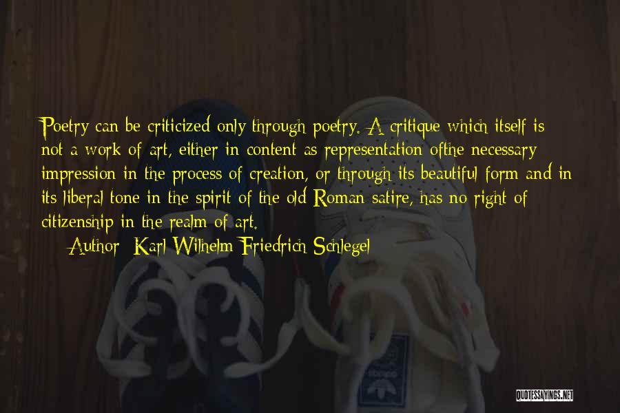 The Spirit Realm Quotes By Karl Wilhelm Friedrich Schlegel