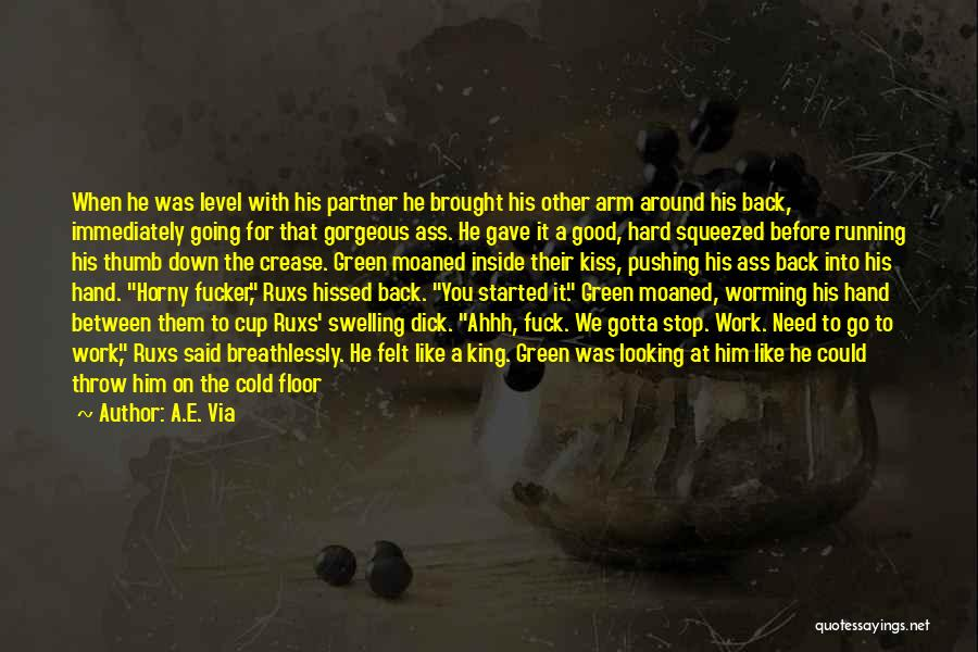 The Spread Quotes By A.E. Via