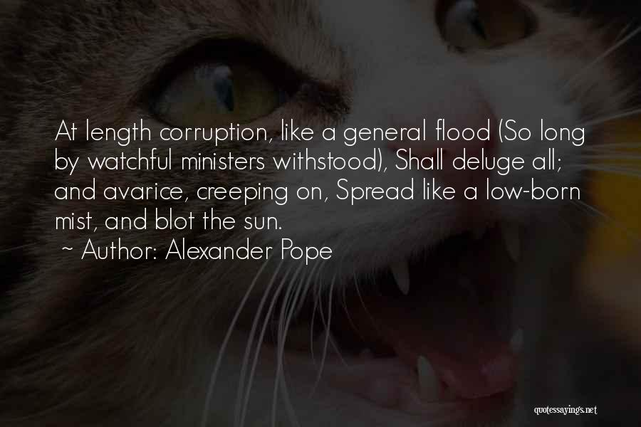 The Spread Quotes By Alexander Pope