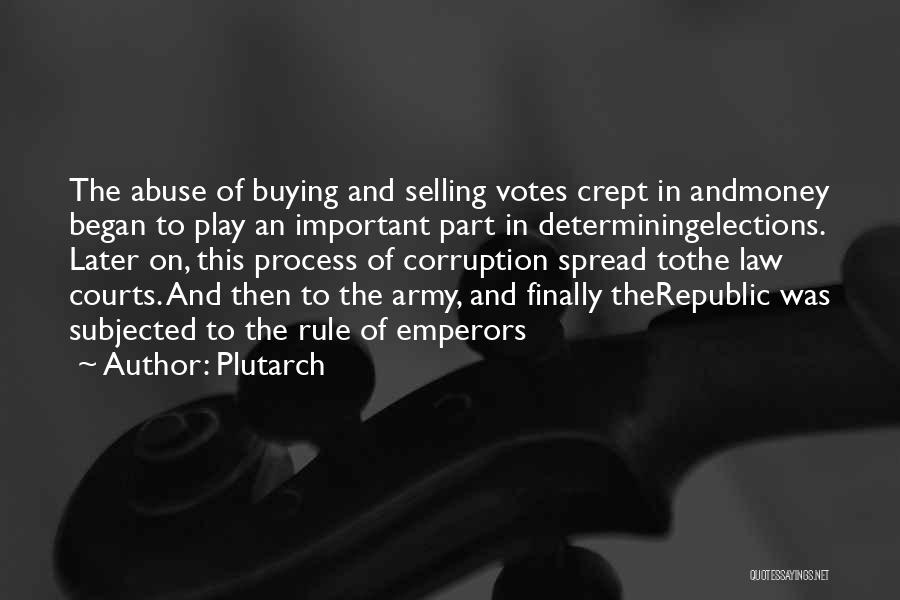 The Spread Quotes By Plutarch