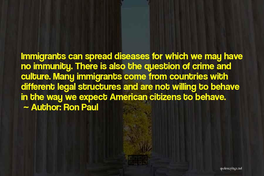 The Spread Quotes By Ron Paul