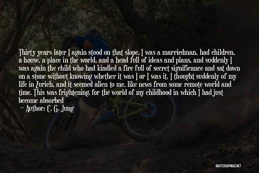The Stone Child Quotes By C. G. Jung