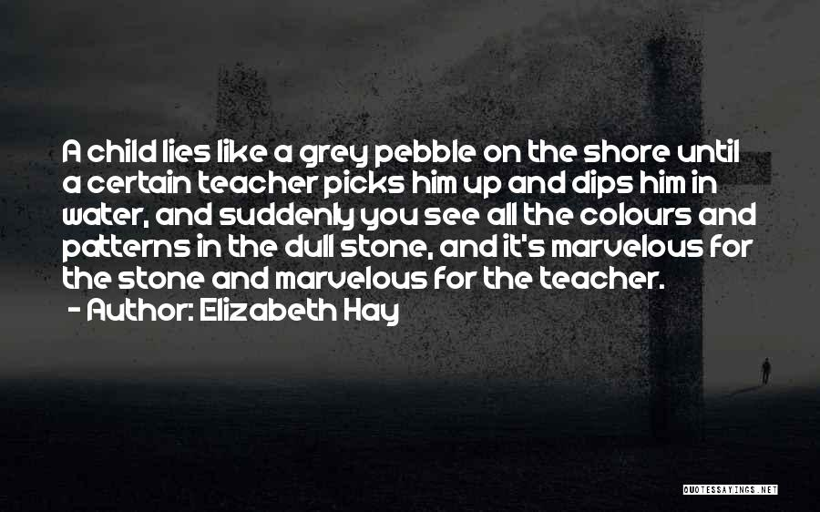 The Stone Child Quotes By Elizabeth Hay
